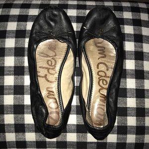 Sam Edelman Black Felicia Ballet Flats